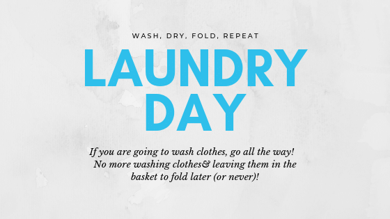 Laundry Day Tips