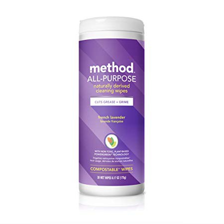 Method Cleaning Wipes In The Lavendar Scent
