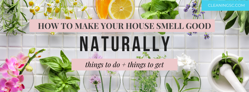 how to make your house smell good naturally