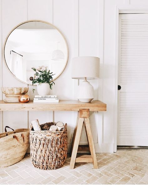 keep a clean and organized home with large baskets