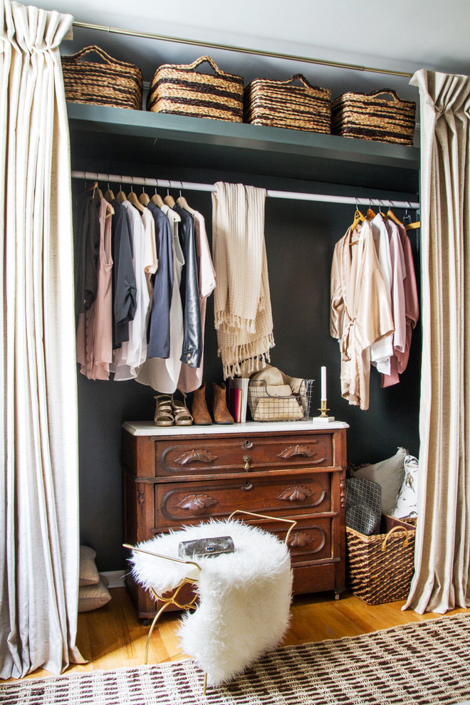 clean and organized closet