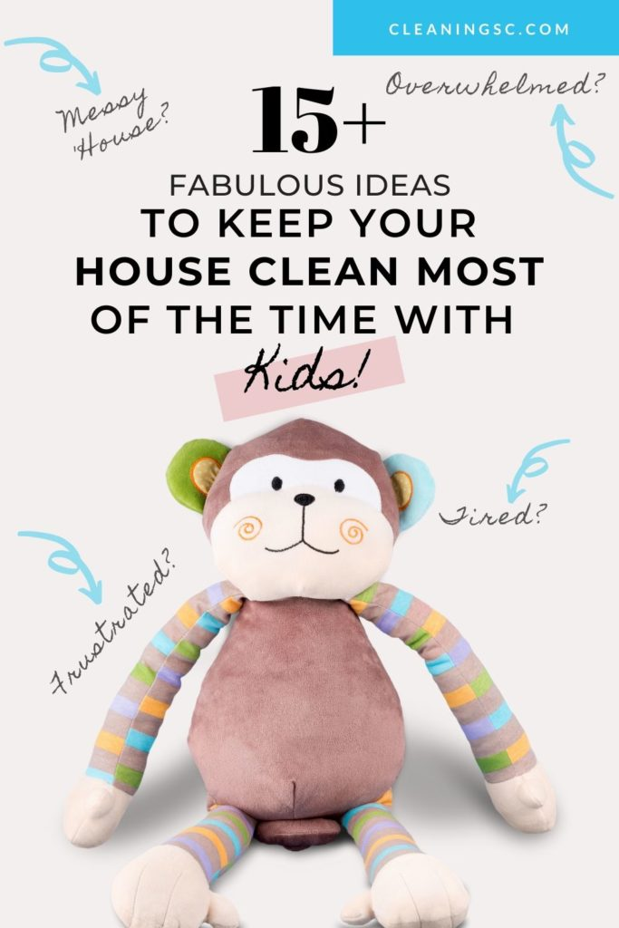 keep your house clean with kids