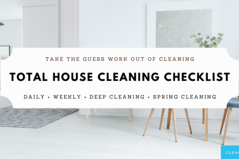 Genius House Cleaning Checklist | Clean Vibes All Year