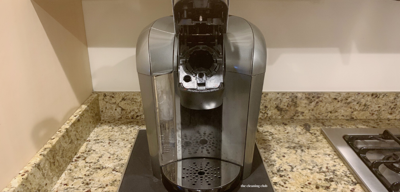 how to clean a single serve Keurig