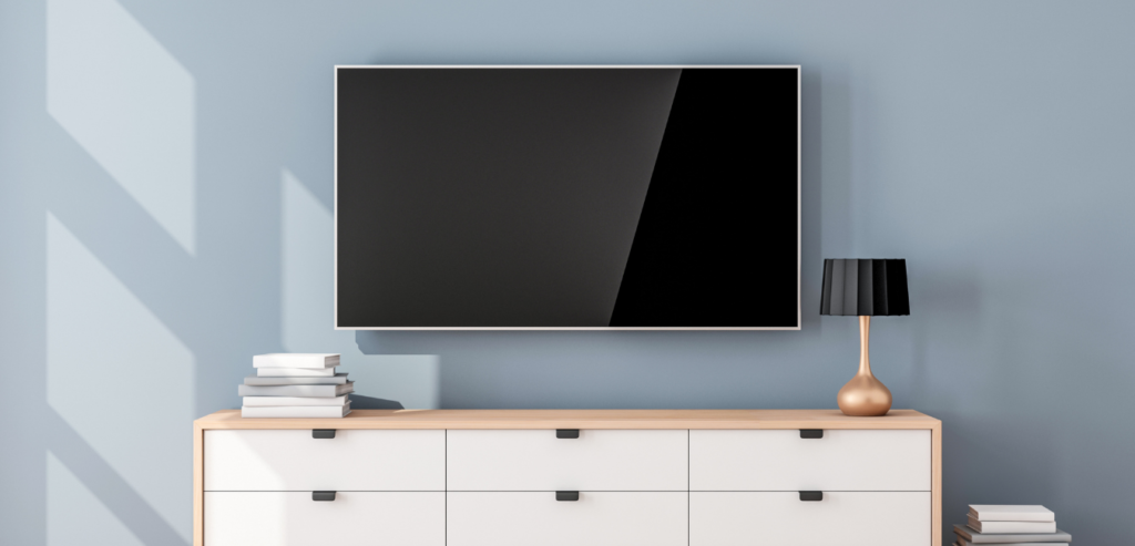 how to clean a flat screen tv without streaks